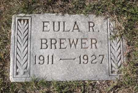 BREWER, EULA RUTH - Archer County, Texas | EULA RUTH BREWER - Texas Gravestone Photos