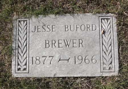BREWER, JESSE BUFORD - Archer County, Texas | JESSE BUFORD BREWER - Texas Gravestone Photos