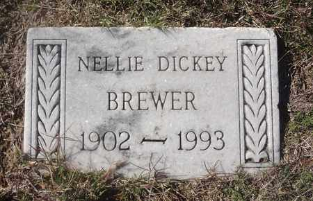 BREWER DICKEY, NELLIE - Archer County, Texas | NELLIE BREWER DICKEY - Texas Gravestone Photos