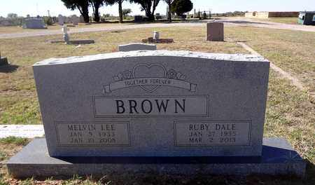 JARRETT BROWN, RUBY DALE - Archer County, Texas | RUBY DALE JARRETT BROWN - Texas Gravestone Photos
