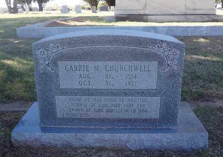 MCKEN CHURCHWELL, CARRIE - Archer County, Texas | CARRIE MCKEN CHURCHWELL - Texas Gravestone Photos