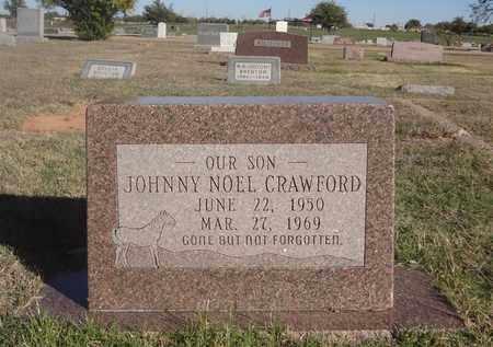 CRAWFORD, JOHNNY NOEL - Archer County, Texas | JOHNNY NOEL CRAWFORD - Texas Gravestone Photos