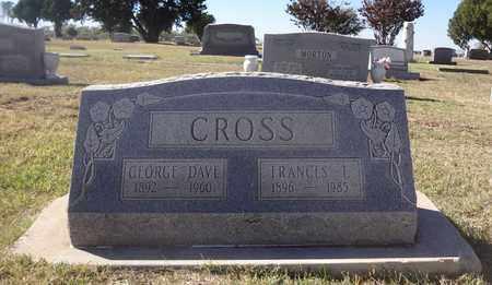 CROSS, GEORGE DAVE - Archer County, Texas   GEORGE DAVE CROSS - Texas Gravestone Photos