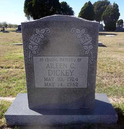 DICKEY, AILEEN C - Archer County, Texas | AILEEN C DICKEY - Texas Gravestone Photos
