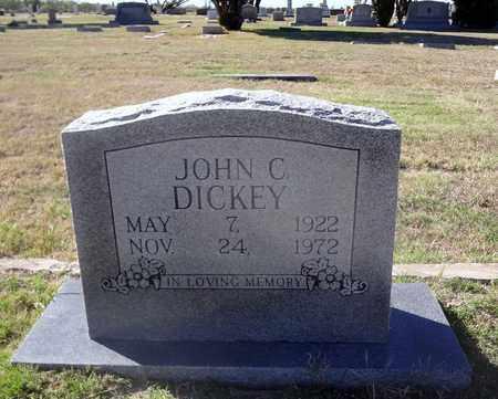 DICKEY, JOHN CLIFTON - Archer County, Texas   JOHN CLIFTON DICKEY - Texas Gravestone Photos
