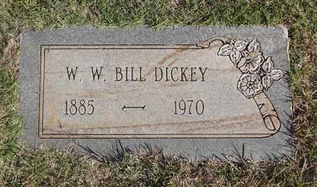 DICKEY, W.W. BILL - Archer County, Texas   W.W. BILL DICKEY - Texas Gravestone Photos