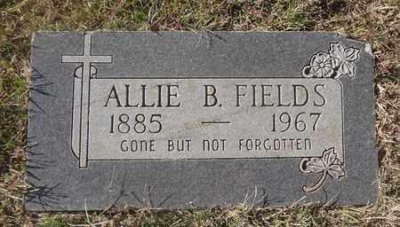 CAMPBELL FIELDS, ALLIE BELL - Archer County, Texas | ALLIE BELL CAMPBELL FIELDS - Texas Gravestone Photos