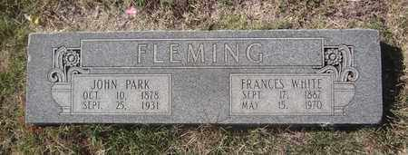FLEMING, JOHN PARK - Archer County, Texas | JOHN PARK FLEMING - Texas Gravestone Photos