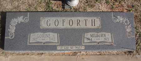 GOFORTH, LORINE - Archer County, Texas   LORINE GOFORTH - Texas Gravestone Photos