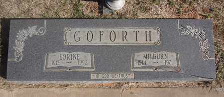 JENKINS GOFORTH, LORINE - Archer County, Texas | LORINE JENKINS GOFORTH - Texas Gravestone Photos