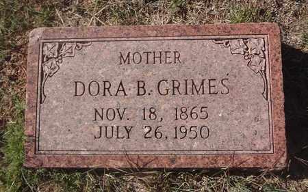 GRIMES, DORA BELLE - Archer County, Texas | DORA BELLE GRIMES - Texas Gravestone Photos