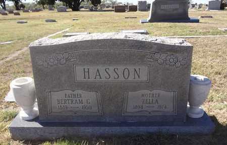 HASSON, BERTRAM GIBSON - Archer County, Texas | BERTRAM GIBSON HASSON - Texas Gravestone Photos