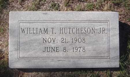 HUTCHESON, WILLIAM T JR - Archer County, Texas   WILLIAM T JR HUTCHESON - Texas Gravestone Photos