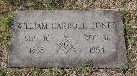 JONES, WILLIAM CARROLL - Archer County, Texas | WILLIAM CARROLL JONES - Texas Gravestone Photos