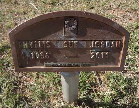 JACKSON JORDAN, PHYLLIS SUE - Archer County, Texas   PHYLLIS SUE JACKSON JORDAN - Texas Gravestone Photos