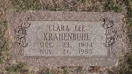 KRAHENBUHL, CLARA LEE - Archer County, Texas | CLARA LEE KRAHENBUHL - Texas Gravestone Photos
