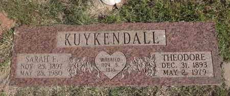 KUYKENDALL, THEODORE - Archer County, Texas | THEODORE KUYKENDALL - Texas Gravestone Photos