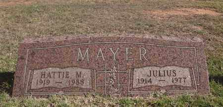 MAYER, JULIUS - Archer County, Texas | JULIUS MAYER - Texas Gravestone Photos