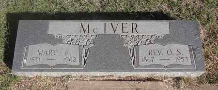 MCIVER, MARY E - Archer County, Texas | MARY E MCIVER - Texas Gravestone Photos