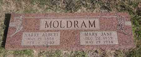 MOLDRAM, MARY JANE - Archer County, Texas | MARY JANE MOLDRAM - Texas Gravestone Photos