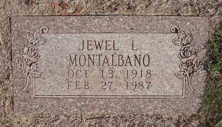MONTALBANO, JEWEL L - Archer County, Texas | JEWEL L MONTALBANO - Texas Gravestone Photos
