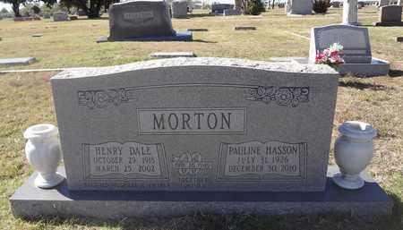 MORTON, HENRY DALE - Archer County, Texas | HENRY DALE MORTON - Texas Gravestone Photos