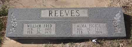 FICHTE REEVES, ALMA - Archer County, Texas | ALMA FICHTE REEVES - Texas Gravestone Photos
