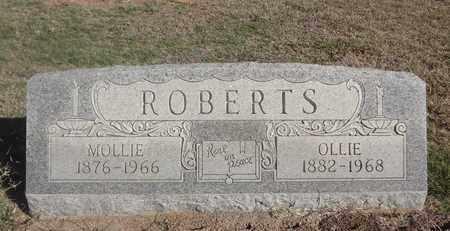 ROBERTS, OLLIE P - Archer County, Texas | OLLIE P ROBERTS - Texas Gravestone Photos