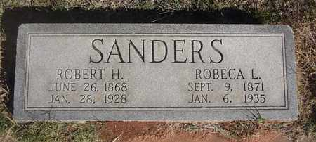 SANDERS, ROBERT HARRISON - Archer County, Texas | ROBERT HARRISON SANDERS - Texas Gravestone Photos