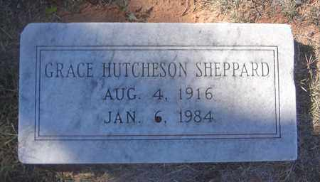 HUTCHESON SHEPPARD, GRACE - Archer County, Texas | GRACE HUTCHESON SHEPPARD - Texas Gravestone Photos