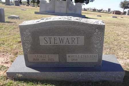 STEWART, MYRTLE ETHELEENE - Archer County, Texas | MYRTLE ETHELEENE STEWART - Texas Gravestone Photos