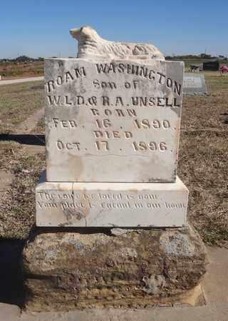 UNSELL, ROAM WASHINGTON - Archer County, Texas | ROAM WASHINGTON UNSELL - Texas Gravestone Photos