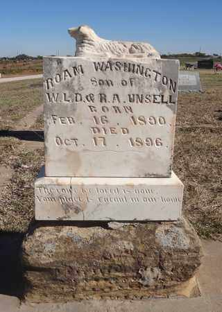 UNSELL, ROAM WASHINGTON - Archer County, Texas | ROAM WASHINGTON UNSELL - Texas Gravestone Photos