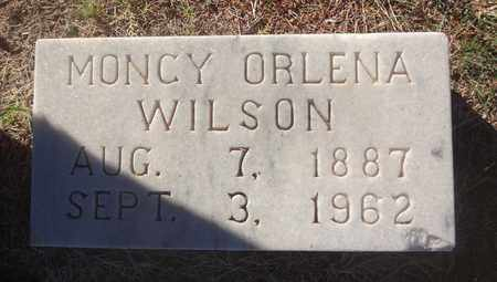 WILSON, MONCY ORLENA - Archer County, Texas | MONCY ORLENA WILSON - Texas Gravestone Photos