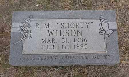 "WILSON, R M ""SHORTY"" - Archer County, Texas | R M ""SHORTY"" WILSON - Texas Gravestone Photos"