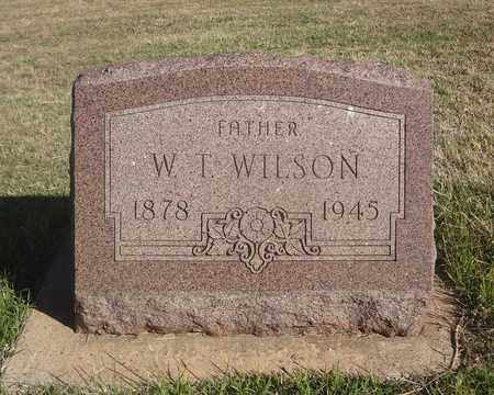 WILSON, WILLIAM T - Archer County, Texas | WILLIAM T WILSON - Texas Gravestone Photos