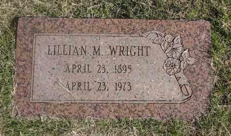 WRIGHT, LILLIAN M - Archer County, Texas | LILLIAN M WRIGHT - Texas Gravestone Photos