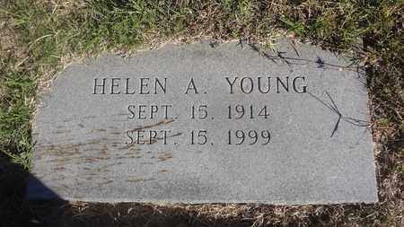 ABERCROMBIE YOUNG, HELEN - Archer County, Texas | HELEN ABERCROMBIE YOUNG - Texas Gravestone Photos