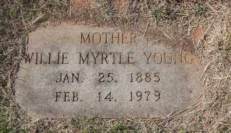 JONES YOUNG, WILLIE MYRTLE - Archer County, Texas | WILLIE MYRTLE JONES YOUNG - Texas Gravestone Photos