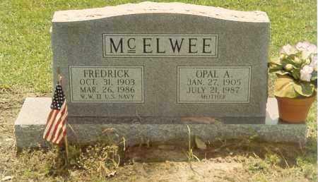 MCJIMSEY MCELWEE, OPAL AGNES - Austin County, Texas | OPAL AGNES MCJIMSEY MCELWEE - Texas Gravestone Photos