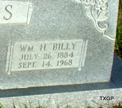 "ASKINS, WILLIAM HENRY ""BILLY"" (CLOSE UP) - Borden County, Texas   WILLIAM HENRY ""BILLY"" (CLOSE UP) ASKINS - Texas Gravestone Photos"