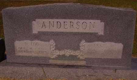 ANDERSON, N EDD - Bowie County, Texas | N EDD ANDERSON - Texas Gravestone Photos