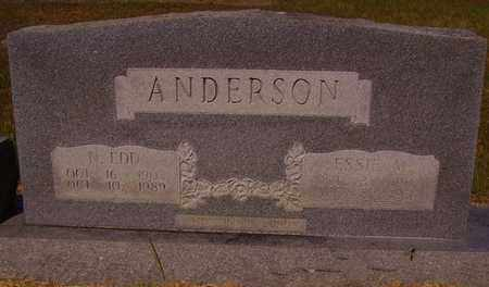 VANDYGRIFF ANDERSON, ESSIE M - Bowie County, Texas | ESSIE M VANDYGRIFF ANDERSON - Texas Gravestone Photos