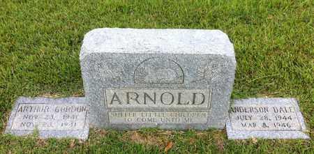 ARNOLD, ARTHUR GORDON - Bowie County, Texas | ARTHUR GORDON ARNOLD - Texas Gravestone Photos