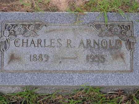 ARNOLD, CHARLES R - Bowie County, Texas | CHARLES R ARNOLD - Texas Gravestone Photos