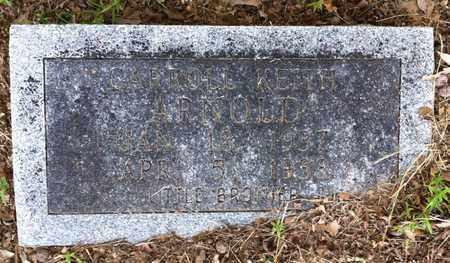 ARNOLD, CARROLL KEITH - Bowie County, Texas | CARROLL KEITH ARNOLD - Texas Gravestone Photos