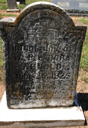 ARNOLD, INFANT DAUGHTER - Bowie County, Texas | INFANT DAUGHTER ARNOLD - Texas Gravestone Photos