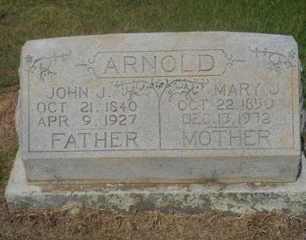 ARNOLD, MARY J - Bowie County, Texas | MARY J ARNOLD - Texas Gravestone Photos