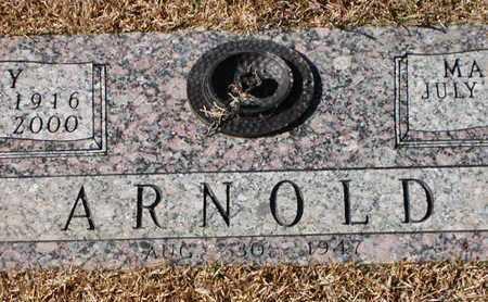 ARNOLD, RAY - Bowie County, Texas | RAY ARNOLD - Texas Gravestone Photos