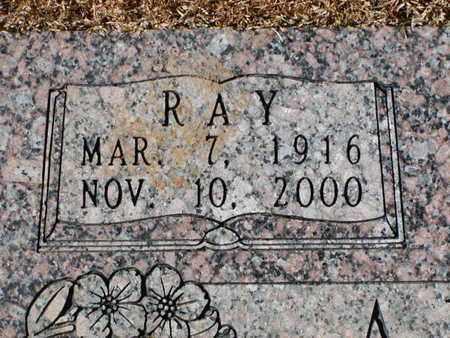 ARNOLD, RAY  (CLOSEUP) - Bowie County, Texas | RAY  (CLOSEUP) ARNOLD - Texas Gravestone Photos
